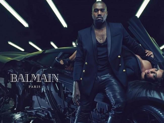 Kanye West dla Balmain
