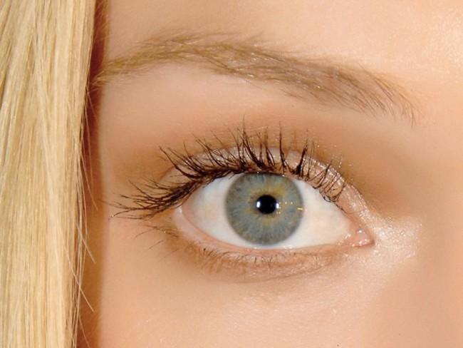makijaż, oko, kobieta, makijaż oczu