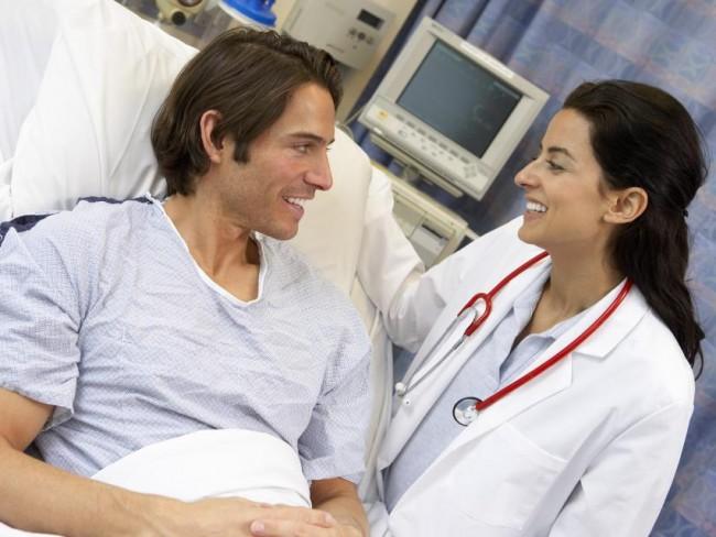 lekarz, pacjent, szpital