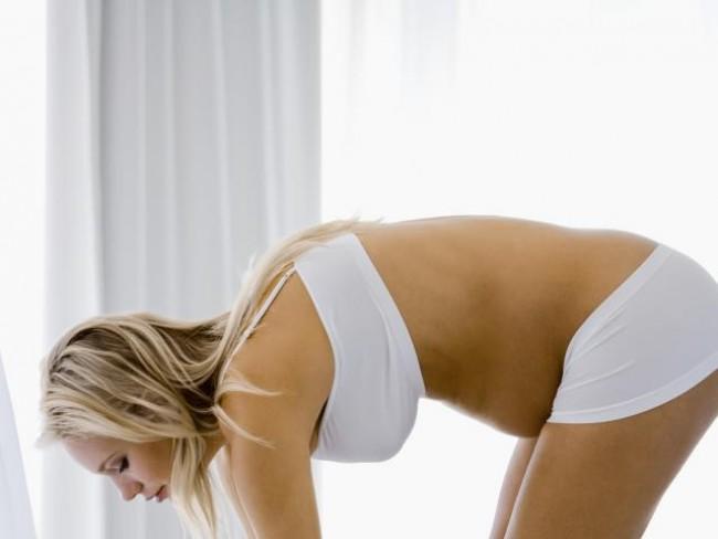 kobieta, ciąża, fitness