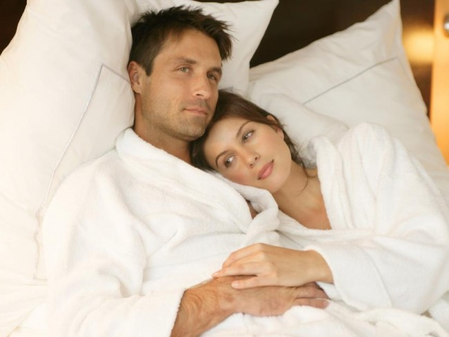 para, łóżko