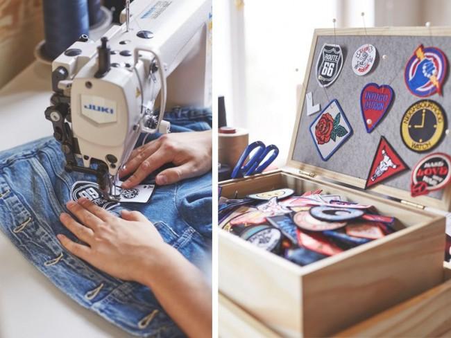 personalizacja jeansu