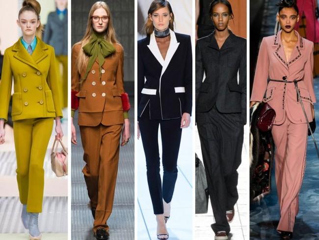 damskie garnitury jesień 2015