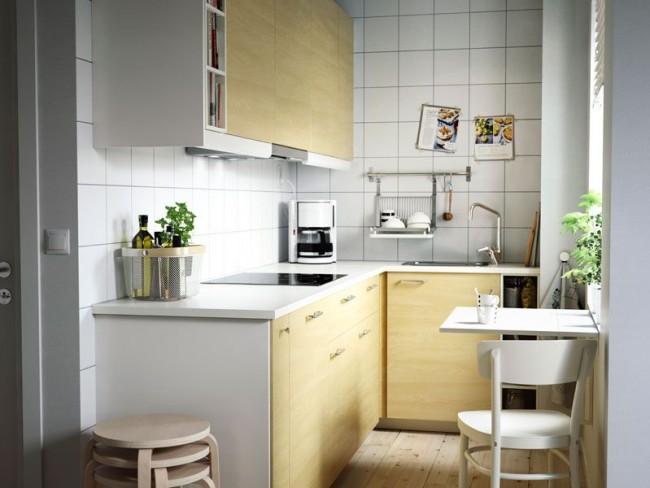 Pomysły na małą kuchnię według IKEA  10 zdjęć  Dom   -> Kuchnia Ikea Zielona