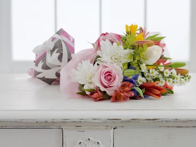 kwiaty, bukiet kwiatów