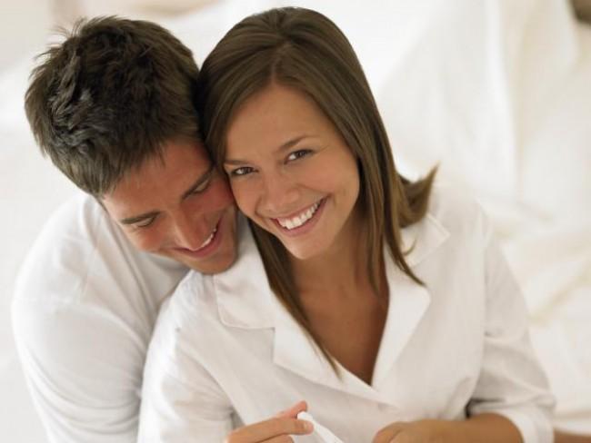 kobieta, ciąża, test ciążowy
