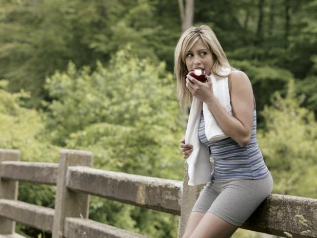 jedzenie, odchudzanie, bieganie