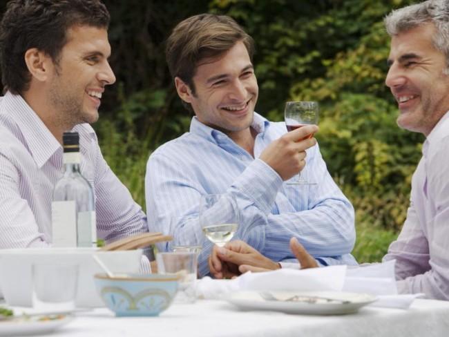 mężczyźni, rozmowa