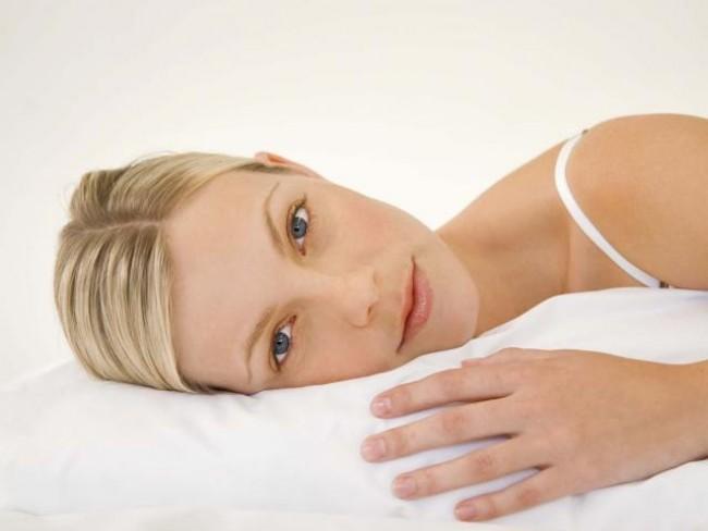kobieta, łóżko