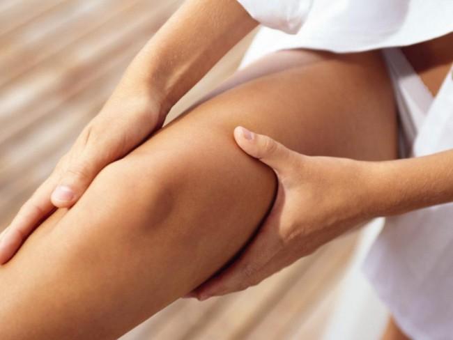 kobieta, nogi, cellulit, uda