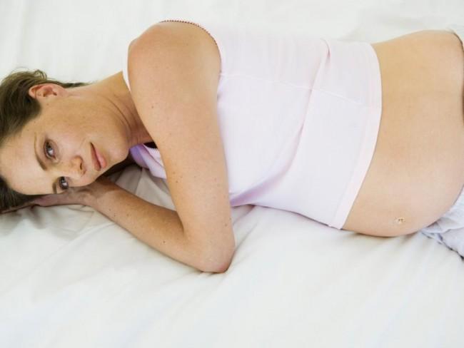 ciąża, kobieta
