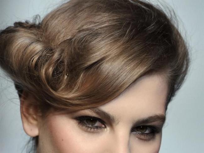 modelka, włosy, fryzura