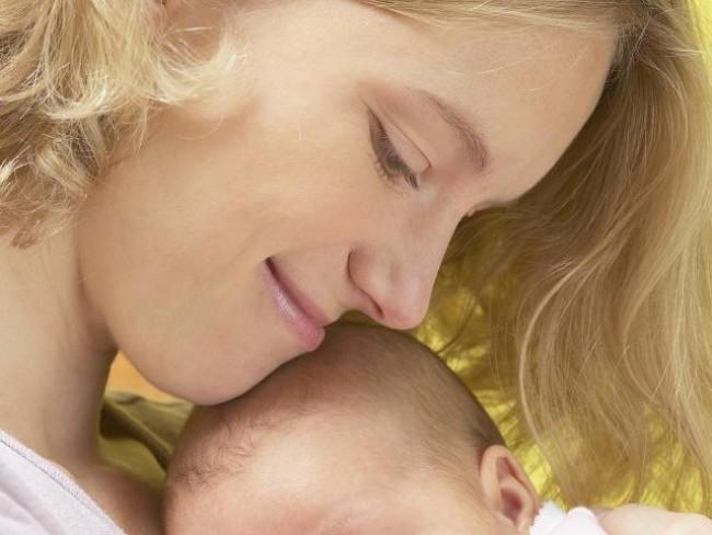 dziecko, mama, niemowlę, higiena