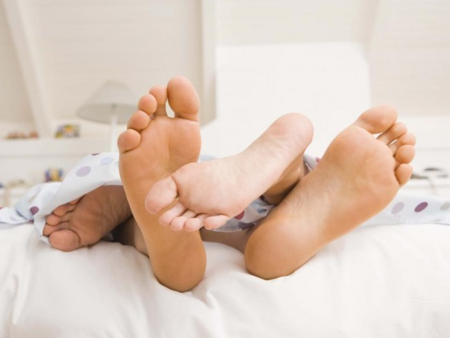para, łóżko, seks