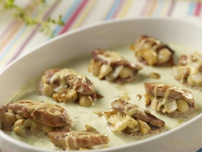 Faszerowane polędwiczki wieprzowe, dania główne, dania z wieprzowiny, polędwiczki