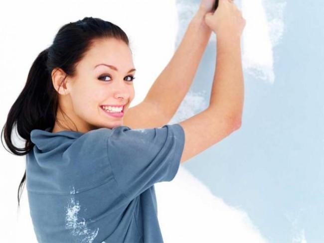 malowanie, pokój, weekend, farba