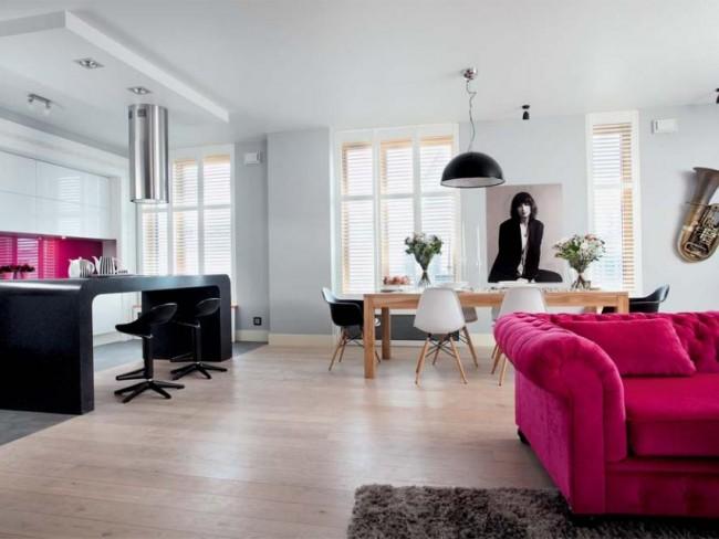 mieszkanie, Grażyna Wolszczak, dom, wnętrze, tak mieszka