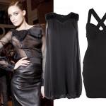 Czarne sukienki na studniówkę  2012