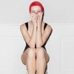 Kożuchowska przefarbowała włosy na czerwono