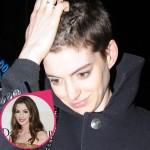 Anne Hathaway w krótkich włosach