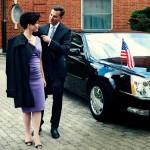 W warszawskim domu ambasadora USA
