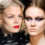 10 gorących makijaży na jesień 2012
