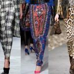 Jesienny must-have: wzorzyste spodnie