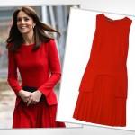 Księżna Kate w świątecznej czerwieni - jak ją stylizuje?