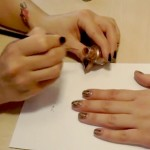 Modny manicure: Panterka [video]