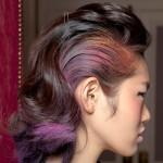 Półdługie włosy - fryzury