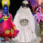 Najdziwniejsze kreacje z pokazów w 2012 roku