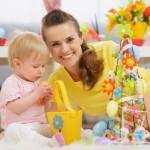 Hit! Pomysły na wielkanocne dekoracje do zrobienia z dzieckiem