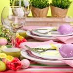 Obrusy i serwetki na wielkanocny stół