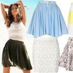 Modne spódnice na lato z wyprzedaży