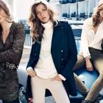 Gisele Bundchen i kolejne jesienne looki od H&M
