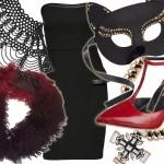 Halloween: mała czarna na 3 mroczne sposoby