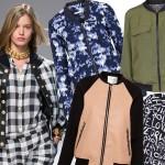 Bomber jacket: modny wybór na wiosnę 2014