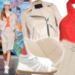 Styl jak z pokazu: sportowa elegancja od DKNY