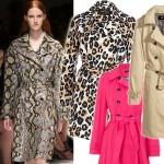 Przegląd modnych trenczy na wiosnę i lato