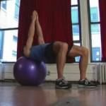 Ćwiczenia z piłką - video