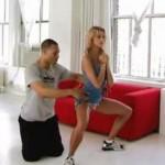 Ćwiczenia na smukłe uda - video