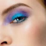 Opalizujący makijaż oczu