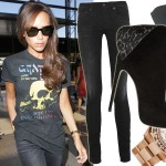 Victoria Beckham nosi t-shirt za 45 złotych i zegarek za...?