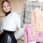 Przegląd pluszowych swetrów na chłodne dni