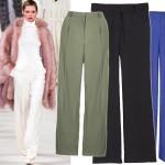 Zadaj szyku w stylu lat 70. - 15 par szerokich spodni