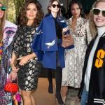Słynne fashionistki na tygodniu mody w Paryżu
