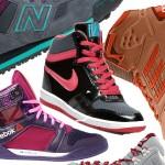 32 pary sportowych butów za kostkę dla miłośniczek wygody