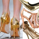 Kochamy to! 13 par pięknych szpilek w kolorze złota