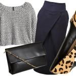 5 pomysłów na stylizację z krótkim swetrem
