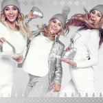 Siostry Mancewicz w świątecznej kampanii Sabriny Pilewicz